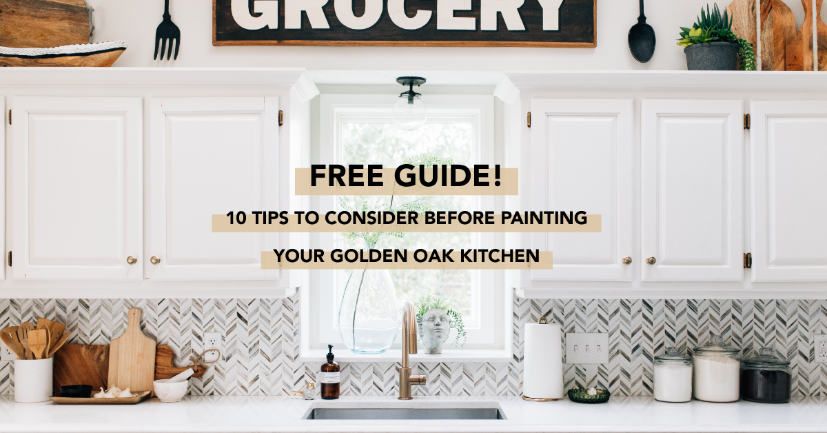 10 tips for painting oak